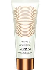 Kanebo - Silky Bronze - Cellular Protective Cream For Body Spf50+ - Sensai Silky Bronze Protec Cream Spf50+-