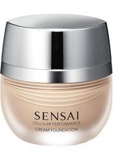 Sensai Cellular Performance Foundations Cream Flüssige Foundation 30 ml Nr. Cf 13 - Warm Beige