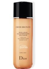 DIOR - DIOR Dior Bronze Liquid Sun Self-Tanning Water 100 ml Selbstbräunungslotion - Selbstbräuner