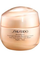 Shiseido - Benefiance Overnight Wrinkle Resisting - Nachtpflege - 50 Ml -