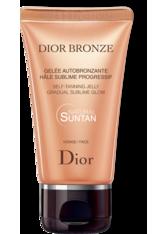 DIOR Hautpflege Selbstbräuner und Sonnenpflege Gelée Autobronzante Hâle Sublime Progressif Visage 50 ml
