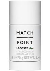 Lacoste Match Point Deodorant Stift 75.0 ml