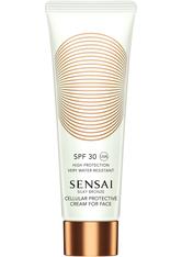 Kanebo - Silky Bronze - Cellular Protective Cream For Face Spf30 - Sensai Silky Bronze Protec Cream Spf30+-