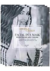 Angela Caglia - Facial In A Mask, 3 X 25 Ml – Gesichtsmasken - one size