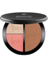 Your Most Beautiful You Anti-Aging Matte Bronzer, Radiance Luminizer & Brightening Blush Palette