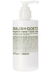Malin + Goetz - Bergamot Hand + Body Wash - Duschgel & Seife
