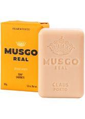 Claus Porto Stückseife Orange Amber Men's Body Soap Seife 160.0 g