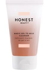 Honest Beauty Reinigung Magic Gel to Milk Cleanser Reinigungscreme 118.0 ml