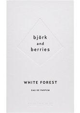 BJÖRK & BERRIES - Björk & Berries White Forest Björk & Berries White Forest White Forest Eau de Parfum Eau de Parfum 50.0 ml - Parfum