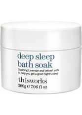 This Works Schlaf Deep Sleep Bath Soak Badesalz 200.0 g