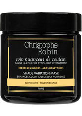 Christophe Robin - Shade Variation Care – Golden Blond, 250 ml – Maske Für Blondes Haar - one size
