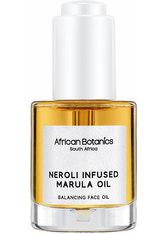 AFRICAN BOTANICS - African Botanics - Neroli Infused Marula Oil - Gesichtsöl - Gesichtsöl