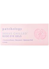 Patchology - Served Chilled Rose Eye Gels - Augenpflegemaske