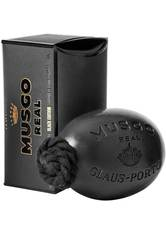 Musgo Real Produkte Black Edition Soap On A Rope Seife 190.0 g