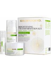 Goldfaden MD - Brightening Transformation Kit  - Pflegeset