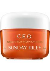 SUNDAY RILEY - Sunday Riley - C.E.O. C + E antiOXIDANT Protect + Repair Moisturizer - Tagespflege & Nachtpflege - Tagespflege