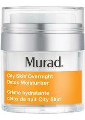 MURAD Environmental Shield E-Shield City Skin Overnight Detox Moisturizer Gesichtspflege 50.0 ml