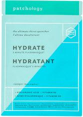 Patchology Masken FlashMasque® Hydrate 5 Minutes Sheet Mask Maske 1.0 pieces