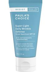Paula's Choice - Resist Super-Light Daily Wrinkle Defense SPF 30 - Getönte Tagespflege