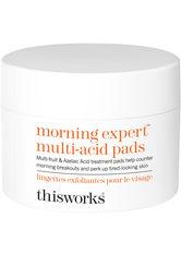 This Works Produkte Morning Expert Multi-Acid Pads Reinigungspads 60.0 pieces