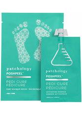 patchology PP Pedi Cure Feet Single - Feuchtigskeitsspendende Fußmaske 95 ml
