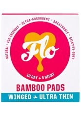 Flo Produkte Natural Bamboo Pads Intimpflege 15.0 pieces