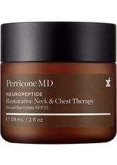 Perricone MD - Neuropeptide Restorative Neck and Chest Therapy, Broad Spectrum SPF 25 - Tagespflege
