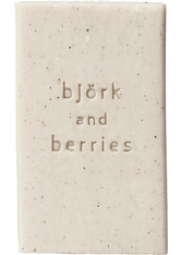 Björk & Berries - Scrub Soap - Stückseife