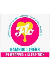Flo Produkte Natural Bamboo Daily Liners Intimpflege 24.0 pieces