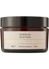 Aurelia Körperpflege Citrus Botanical Cream Deodorant Deodorant Creme 50.0 g