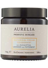 Aurelia Körperpflege Botanical Cream Deodorant Deodorant Creme 110.0 g