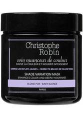 Christophe Robin - Shade Variation Care – Baby Blond, 250 ml – Maske Für Blondes Haar - one size