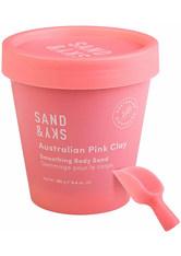 Sand & Sky Körperpeeling Australian Pink Clay - Smoothing Body Sand Körperpeeling 180.0 g