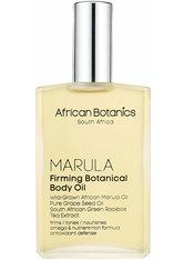 AFRICAN BOTANICS - African Botanics - Marula Firming Botanical Body Oil - Körperöl - Körpercreme & Öle
