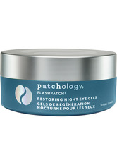 PATCHOLOGY - Patchology Masken Patchology Masken FlashPatch Restoring Night Eye Gels Augenpflegekonzentrat 1.0 pieces - Augenmasken