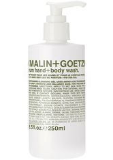 Malin + Goetz - Rum Hand + Body Wash - Duschgel & Seife
