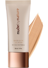 Nude by Nature Sheer Glow BB Cream  30 ml Nr. 01 - porcelain
