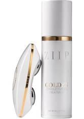 ZIIP Beauty Nano Mikrostrom-Gerät + Extra Gold Conductive Gel-Balsam