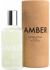 LABORATORY PERFUMES - Laboratory Perfumes Amber Laboratory Perfumes Amber Eau de Toilette 100.0 ml - Parfum