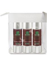 MBR Medical Beauty Research Herrenpflege Men Oleosome Travel Set Over Night Peeling 50 ml + Face Concentrate 50 ml + Rich Cream 50 ml 1 Stk.