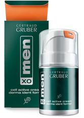 Gertraud Gruber menXO Cell Active Cream Derma Ident Formel 50 ml Gesichtscreme