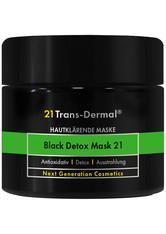 21 Trans-Dermal Black Detox Mask 21 50ml Gesichtsmaske