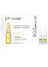 Wellmaxx Phase² Solution Concentrates Refresh Gesichtsserum  7x1 ml