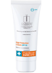 MBR MEDICAL BEAUTY RESEARCH - MBR Medical Beauty Research Sonnenpflege Medical Sun Care High Protection Cream SPF 50 50 ml - SONNENCREME