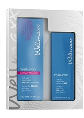 Wellmaxx Hyaluron Duo Collagen Booster Gesichtspflegeset 1 Stk