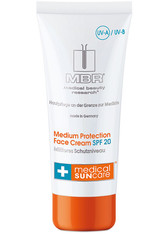 MBR MEDICAL BEAUTY RESEARCH - MBR Medical Beauty Research Sonnenpflege Medical Sun Care Medium Protection Face Cream SPF 20 100 ml - SONNENCREME