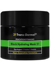 21 Trans-Dermal Black Hydrating Mask 21 50ml Gesichtsmaske
