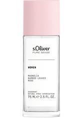 s.Oliver Pure Sense Women Deodorant Natural Spray 75 ml Deodorant Spray
