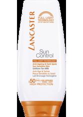 Lancaster Sonnenpflege Sun Control Uniform Tan Milk SPF 50 125 ml