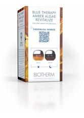 Biotherm Blue Therapy - Regeneriert Zeichen der Hautalterung Amber Algae Revitalize 24h Duo Set Gesichtspflege 1.0 pieces